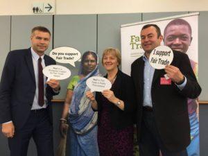 Fair Trade Breakfast w Parlamencie Europejskim 2015