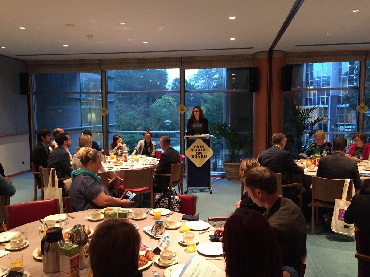 Fair Trade Breakfast w Parlamencie Europejskim Bruksela