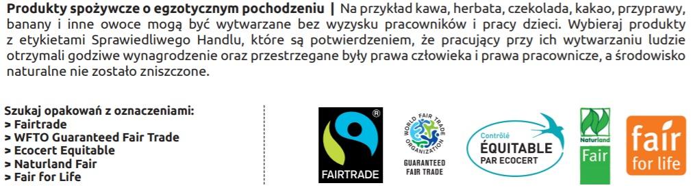 Działamy na rzecz Celów Zrównoważonego Rozwoju, Sprawiedliwy Handel realizuje Cele Zrównoważonego Rozwoju