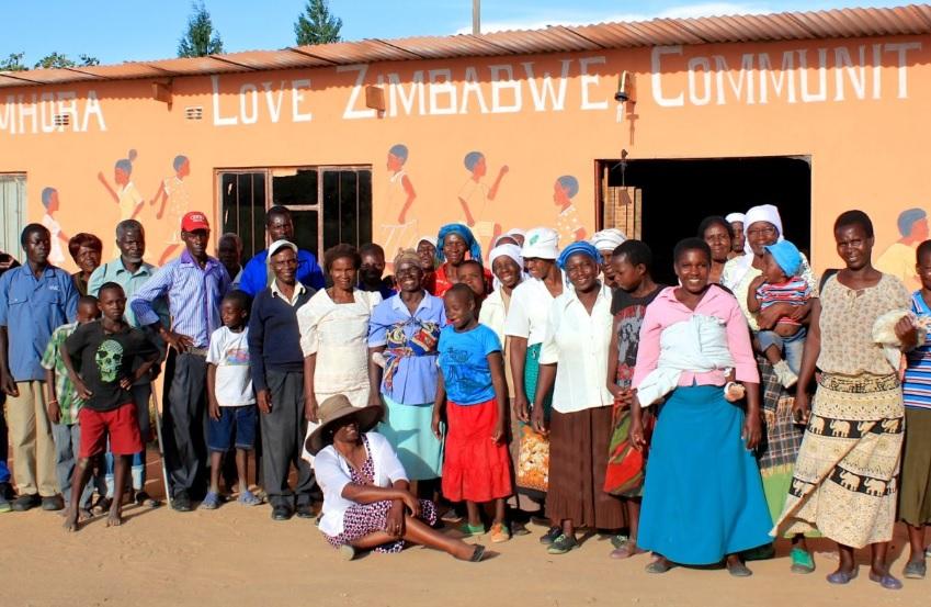 Centrum społeczonści Chinamhora - dzieło Marthy Holman i jej organizacji Love Zimbabwe